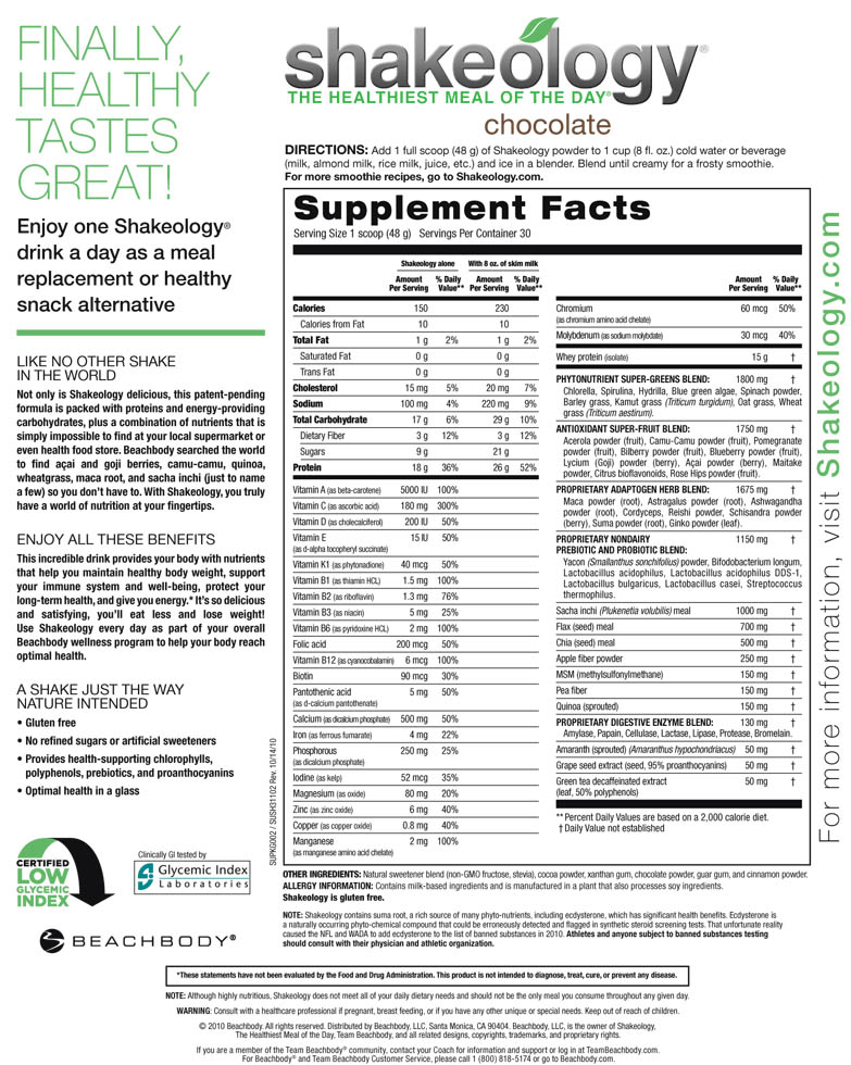 Complete, balanced nutrition for everyday health