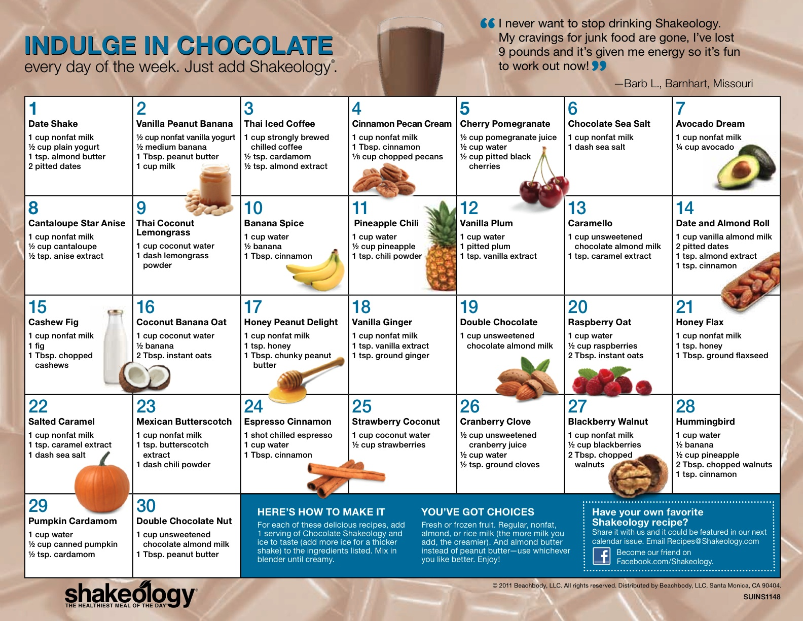If you think Greenberry Shakeology is boring, think again. By adding ...